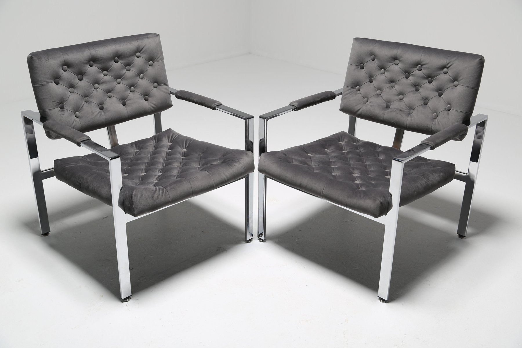 milo baughman furniture. Vintage Lounge Chairs By Milo Baughman, Set Of 2 Baughman Furniture