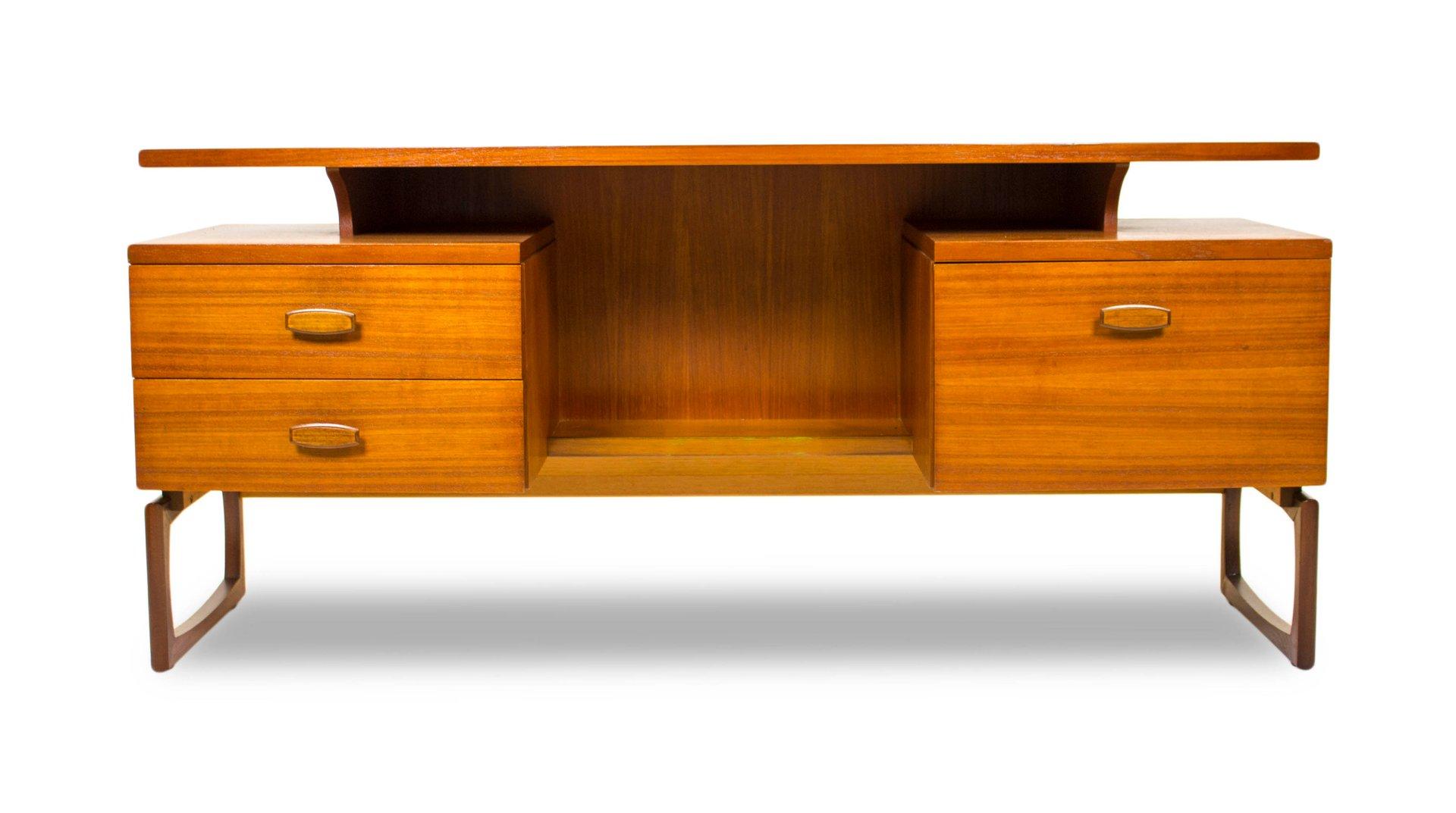 Mid Century Desk Or Dressing Table By R Bennett For G Plan