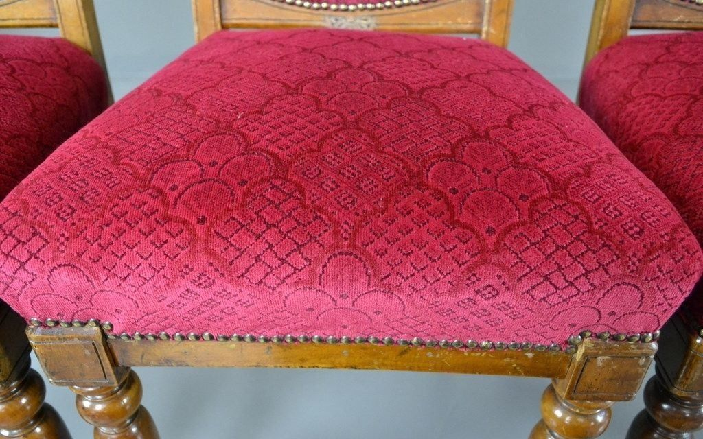 Antique Victorian Dining Chairs, Set of 4 for sale at Pamono