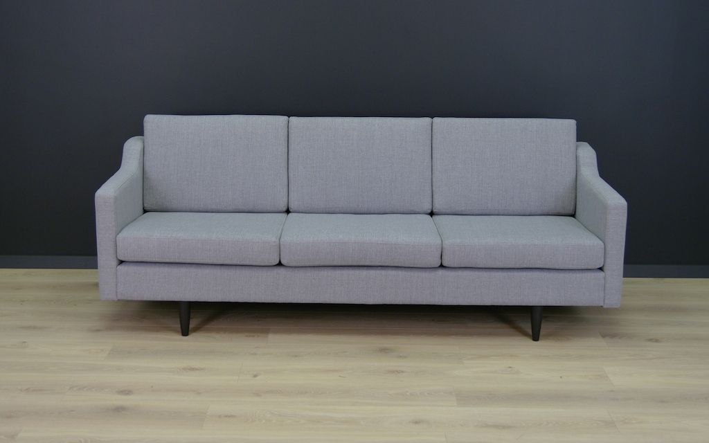 d nisches vintage sofa in hellgrau bei pamono kaufen. Black Bedroom Furniture Sets. Home Design Ideas