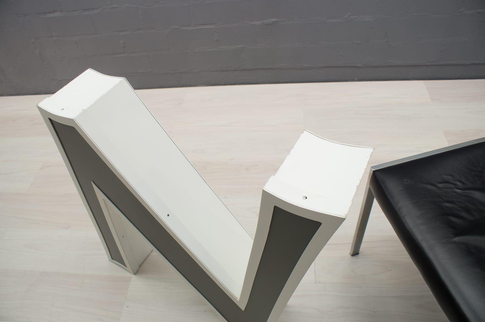 gro er buchstabe n von au enwerbung 1970er bei pamono kaufen. Black Bedroom Furniture Sets. Home Design Ideas