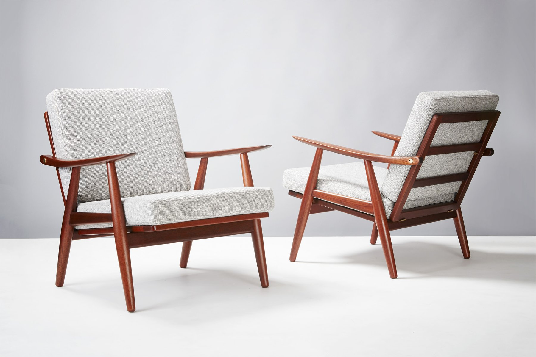 Attractive GE 270 Chairs By Hans Wegner For Getama, 1956