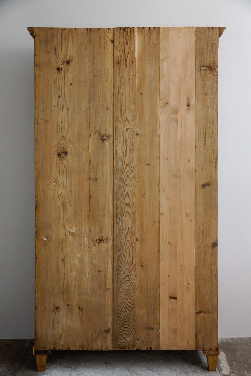 antiker holz k chenschrank bei pamono kaufen. Black Bedroom Furniture Sets. Home Design Ideas