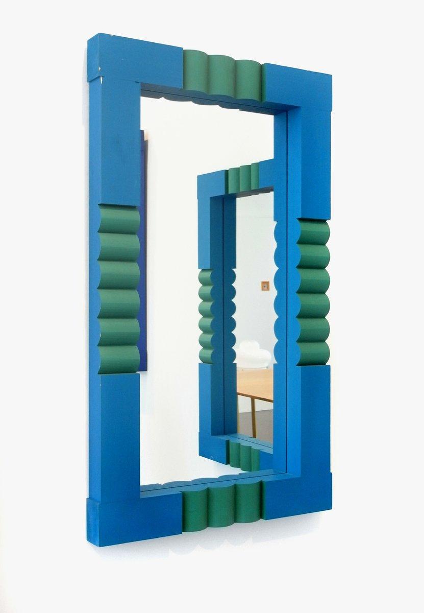 schwedischer spiegel von erik h glund f r boda 1967 bei pamono kaufen. Black Bedroom Furniture Sets. Home Design Ideas