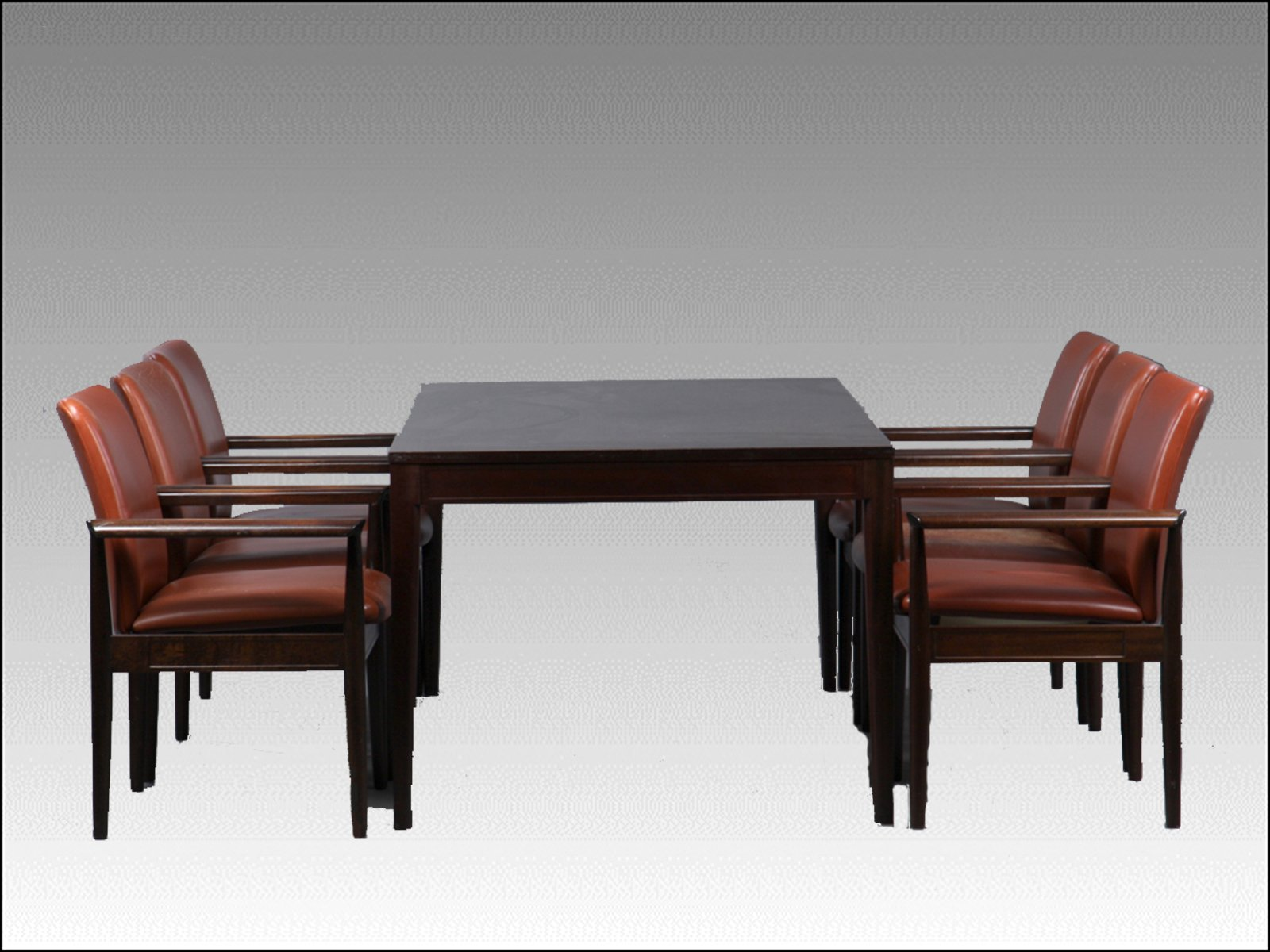 Mahogany dining or conference table from the diplomat series by finn price per piece dzzzfo