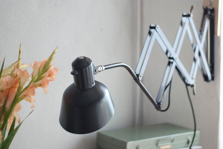 Good Vintage German Scissor Wall Lamp From SIS 17. U20ac690.00