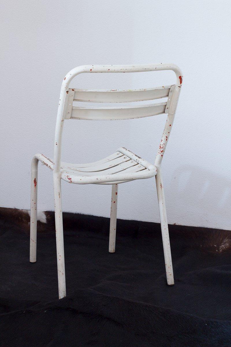 industrielle wei e st hle von tolix 3er set bei pamono kaufen. Black Bedroom Furniture Sets. Home Design Ideas
