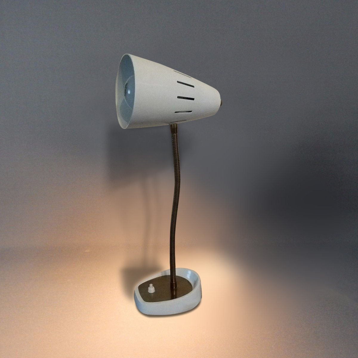 White British Model 971 Gooseneck Desk Lamp From Pifco, 1960s