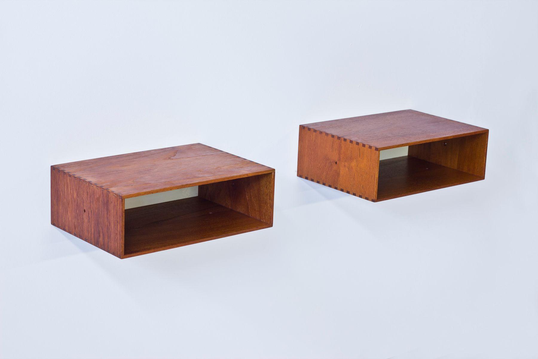 h ngende vintage ablagen von uno sten kristiansson f r luxus 2er set bei pamono kaufen. Black Bedroom Furniture Sets. Home Design Ideas