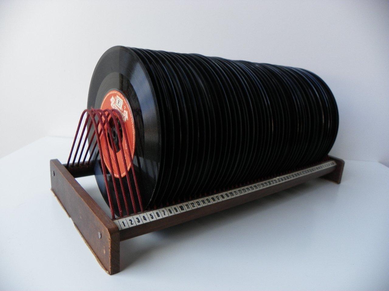Bac A Vinyl : bac disques vinyle avec disques 1950s en vente sur pamono ~ Teatrodelosmanantiales.com Idées de Décoration