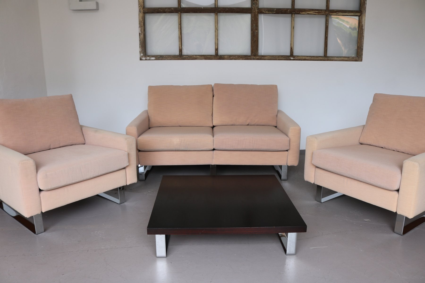 conseta sessel sofa tisch von f w m ller f r cor. Black Bedroom Furniture Sets. Home Design Ideas