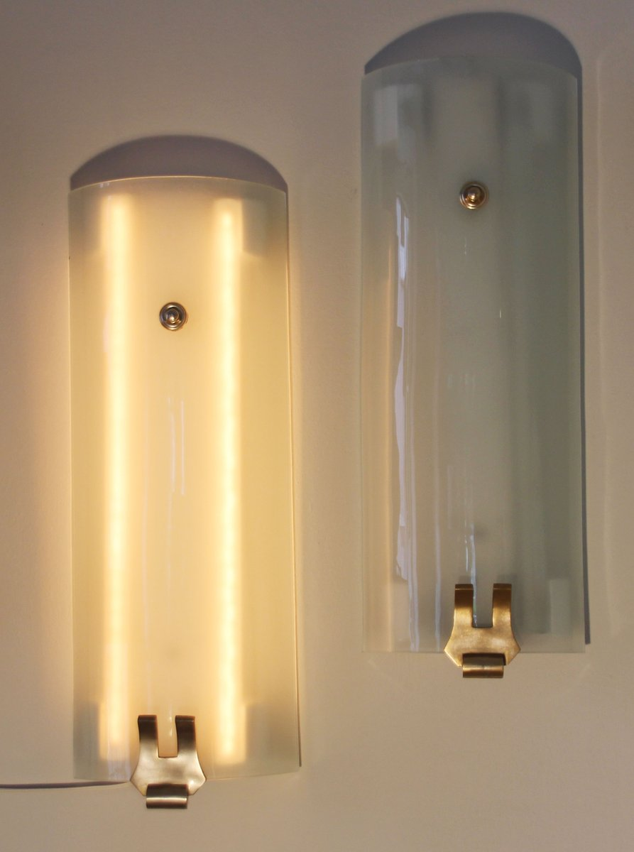 French Art Deco Wall Light, 1940s for sale at Pamono