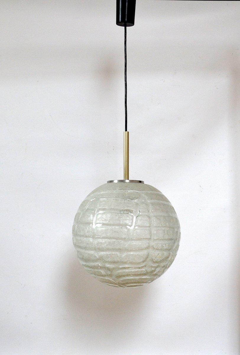 gro e lampe von doria leuchten 1970er bei pamono kaufen. Black Bedroom Furniture Sets. Home Design Ideas