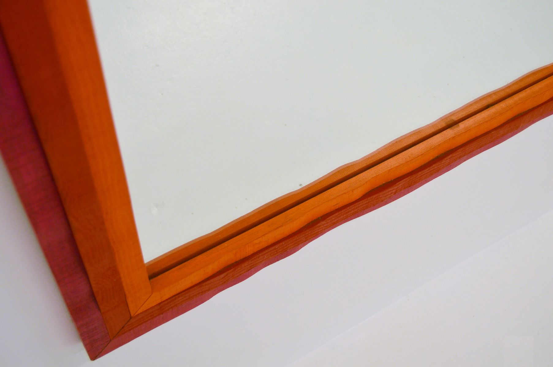 gro er spiegel von erik h glund f r eriksm laglas 1969. Black Bedroom Furniture Sets. Home Design Ideas