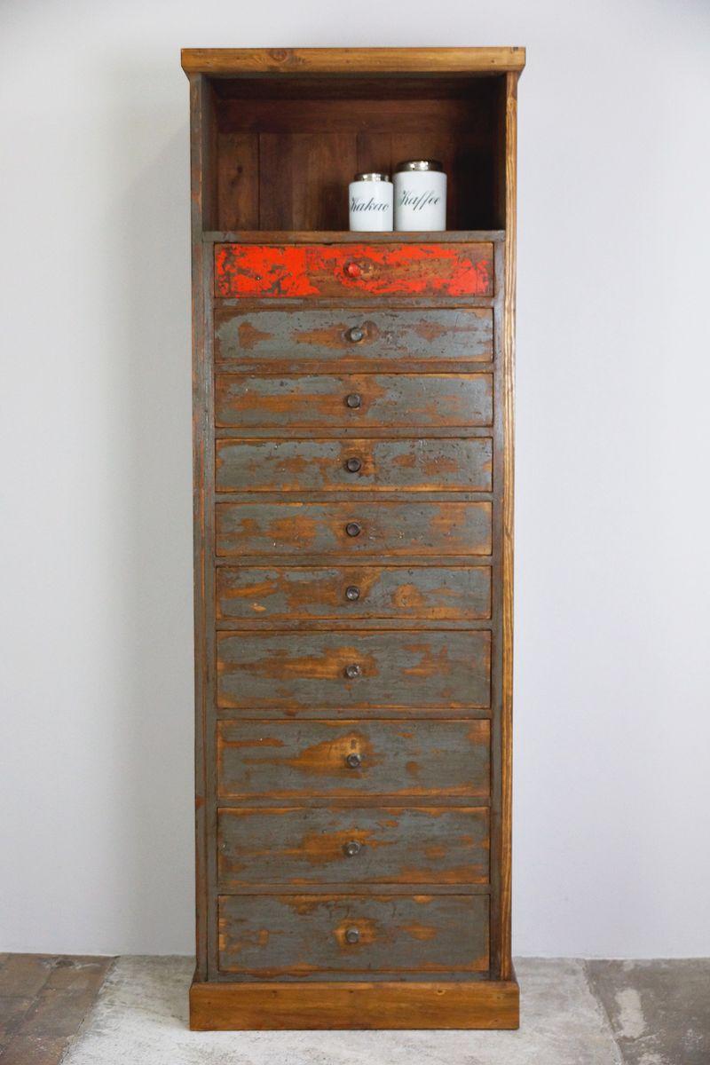 meuble haut tiroirs vintage 1930s en vente sur pamono. Black Bedroom Furniture Sets. Home Design Ideas