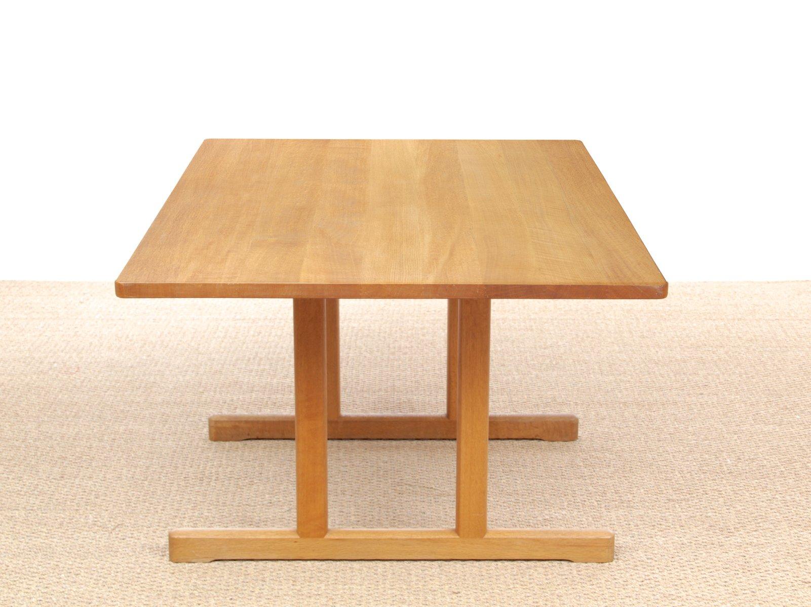 skandinavischer shaker 6287 esstisch von b rge mogensen f r fredericia 1966 bei pamono kaufen. Black Bedroom Furniture Sets. Home Design Ideas
