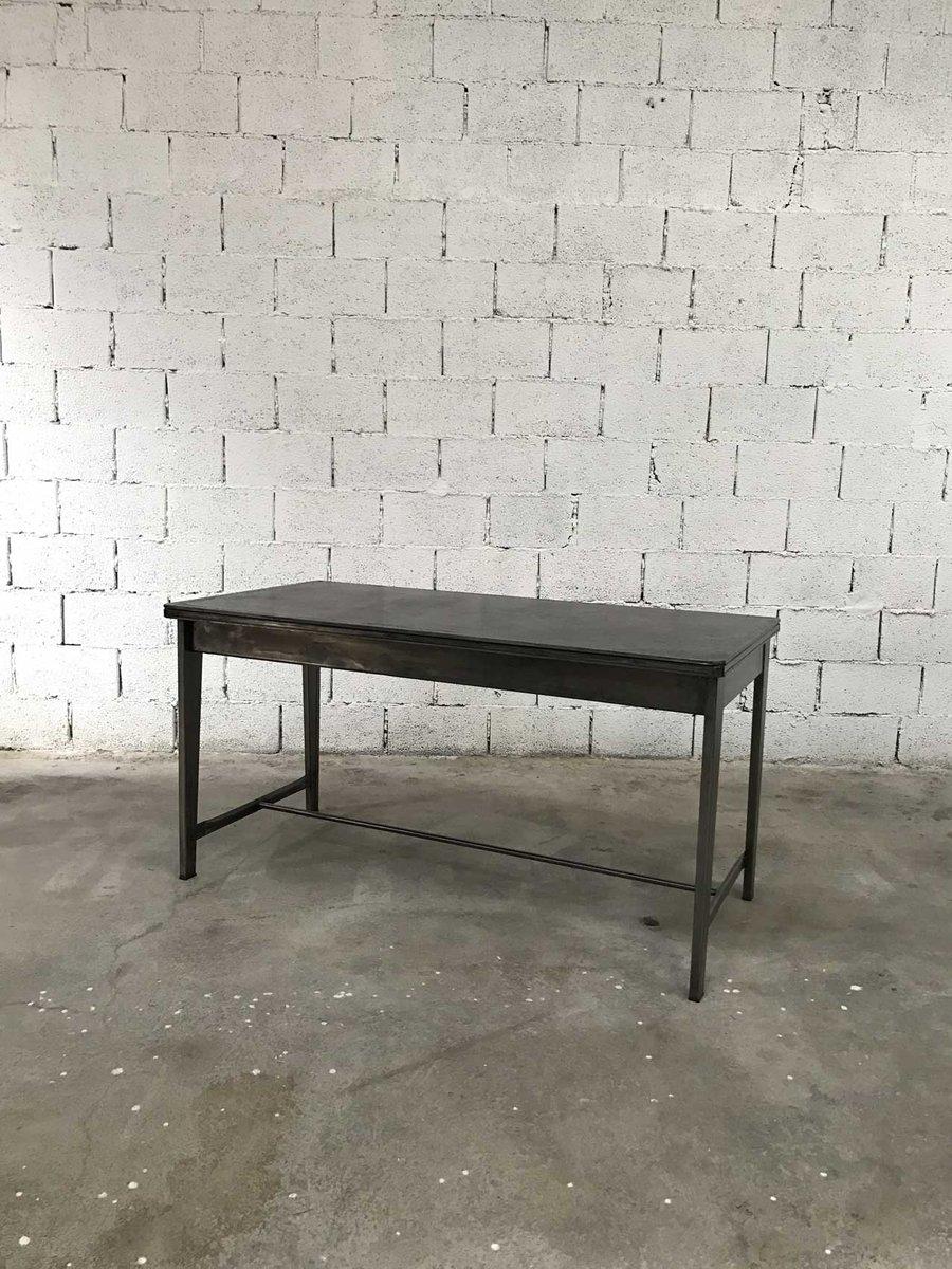 vintage schreibtisch aus metall bei pamono kaufen. Black Bedroom Furniture Sets. Home Design Ideas