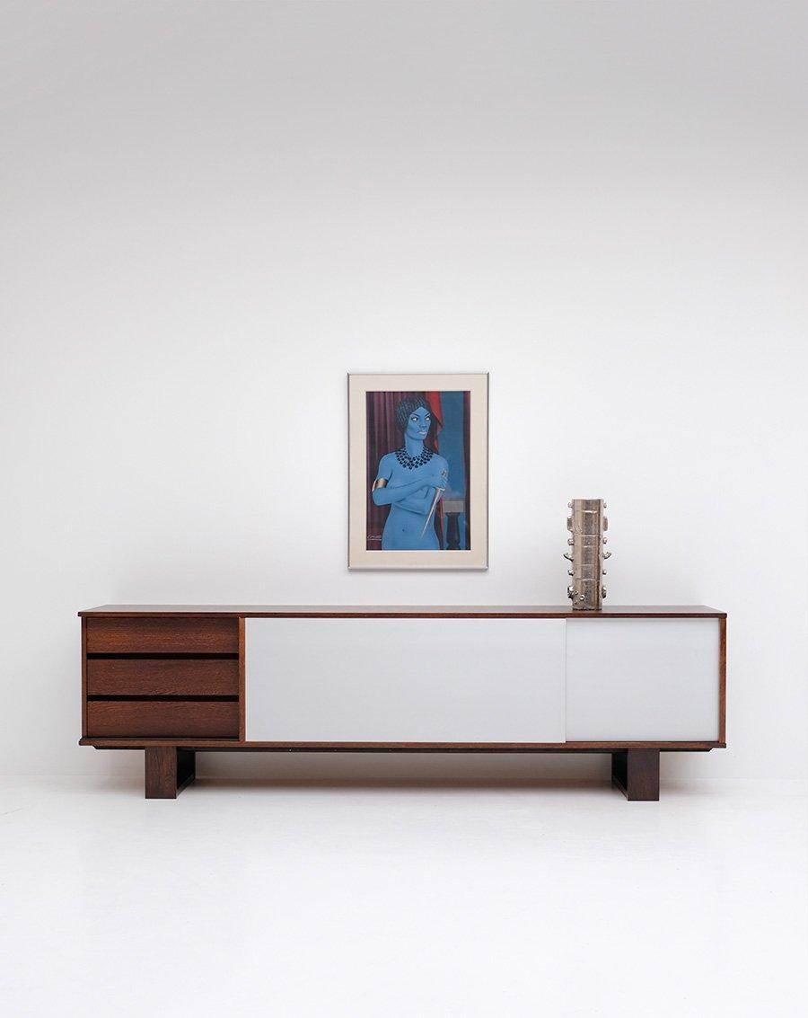 wenge sideboard from bovenkamp 1970s for sale at pamono. Black Bedroom Furniture Sets. Home Design Ideas