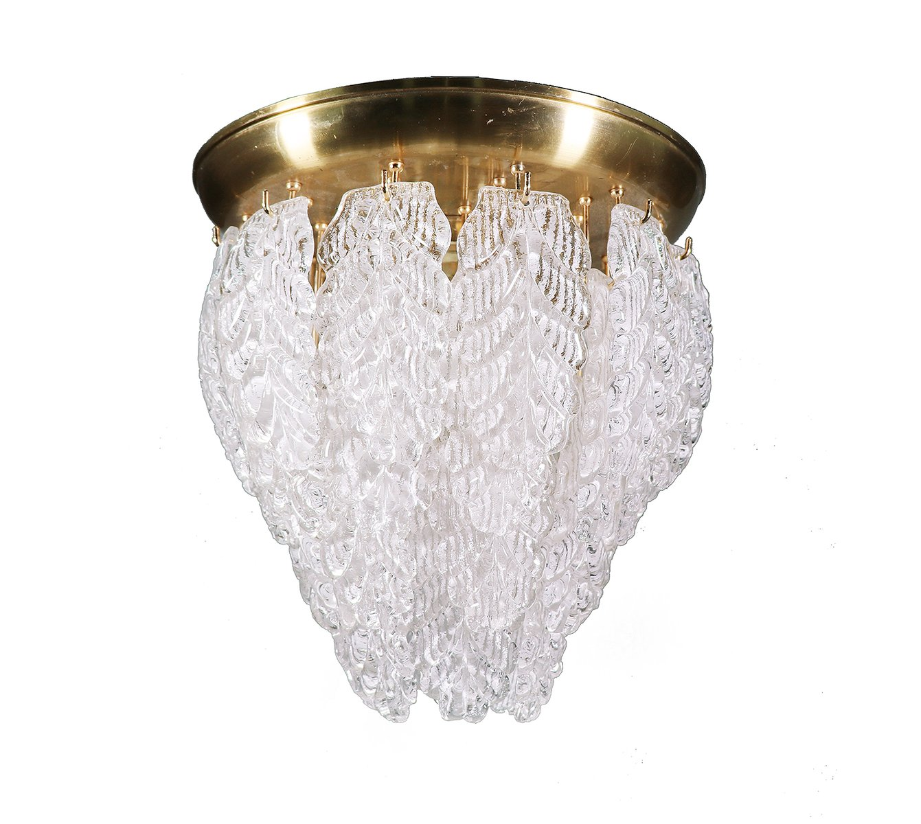 Mid-Century Murano Graniglia Chandelier from Barovier e Toso for ...