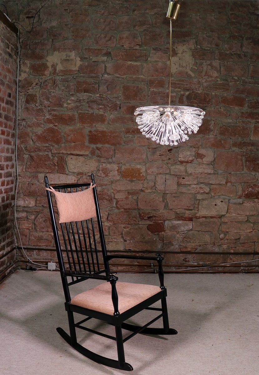 mid century halber schneeball sputnik kronleuchter von emil stejnar f r rupert nikoll bei pamono. Black Bedroom Furniture Sets. Home Design Ideas