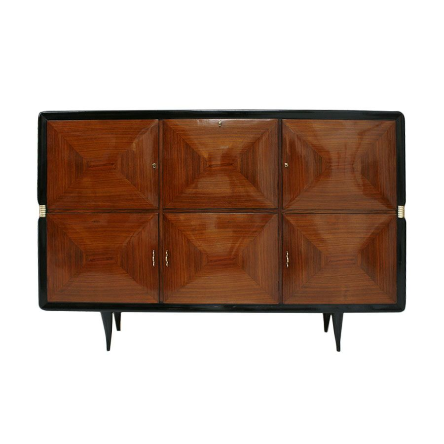 italienisches vintage sideboard 1940er bei pamono kaufen. Black Bedroom Furniture Sets. Home Design Ideas