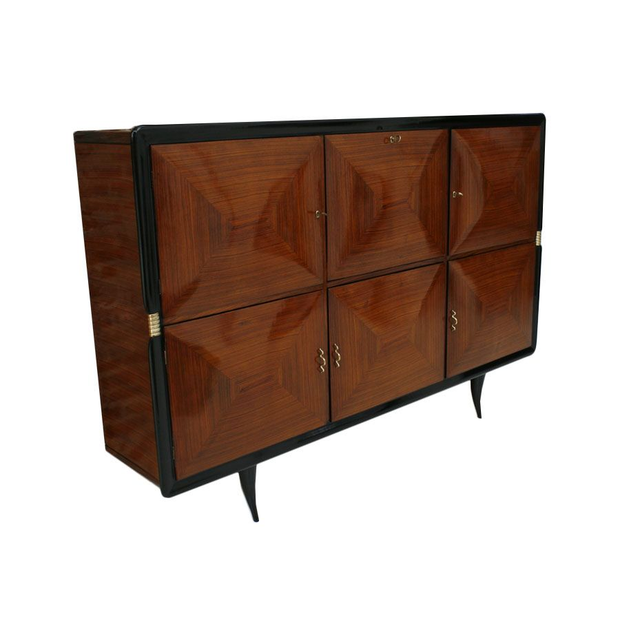 Vintage italian sideboard 1940s for sale at pamono for Sideboard 50 cm