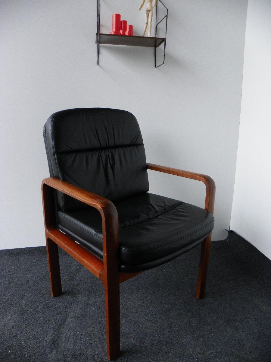 Vintage leder sessel von kondor mobel perfektion bei for Sessel vintage leder