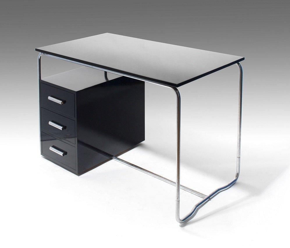 schreibtisch von marcel breuer f r thonet 1930er bei. Black Bedroom Furniture Sets. Home Design Ideas