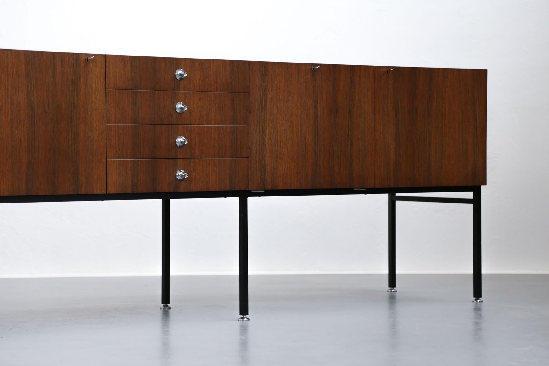 vintage french sideboard by alain richard for meubles tv for sale at pamono. Black Bedroom Furniture Sets. Home Design Ideas