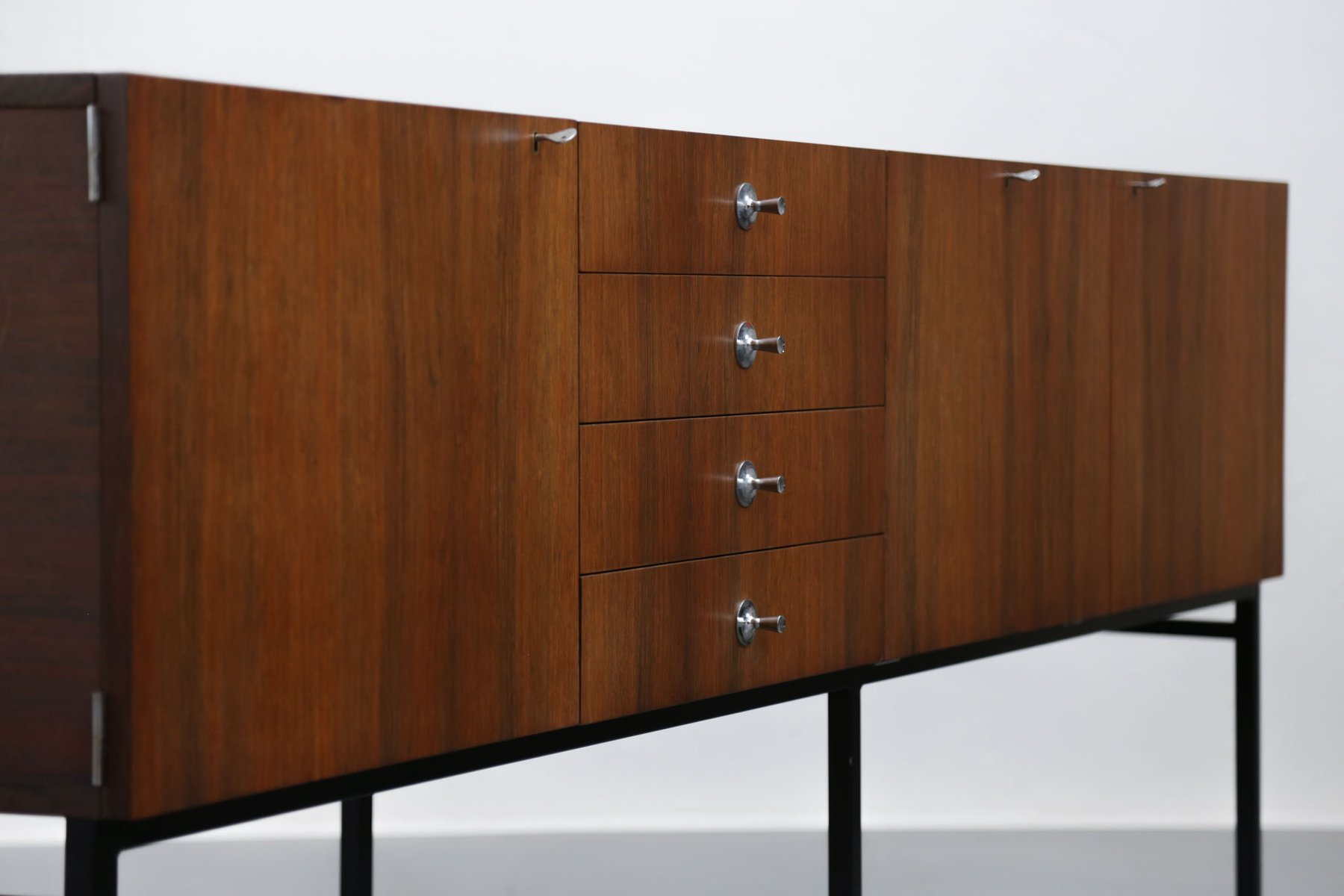 vintage french sideboard by alain richard for meubles tv for sale at pamono. Black Bedroom Furniture Sets. Home Design Ideas