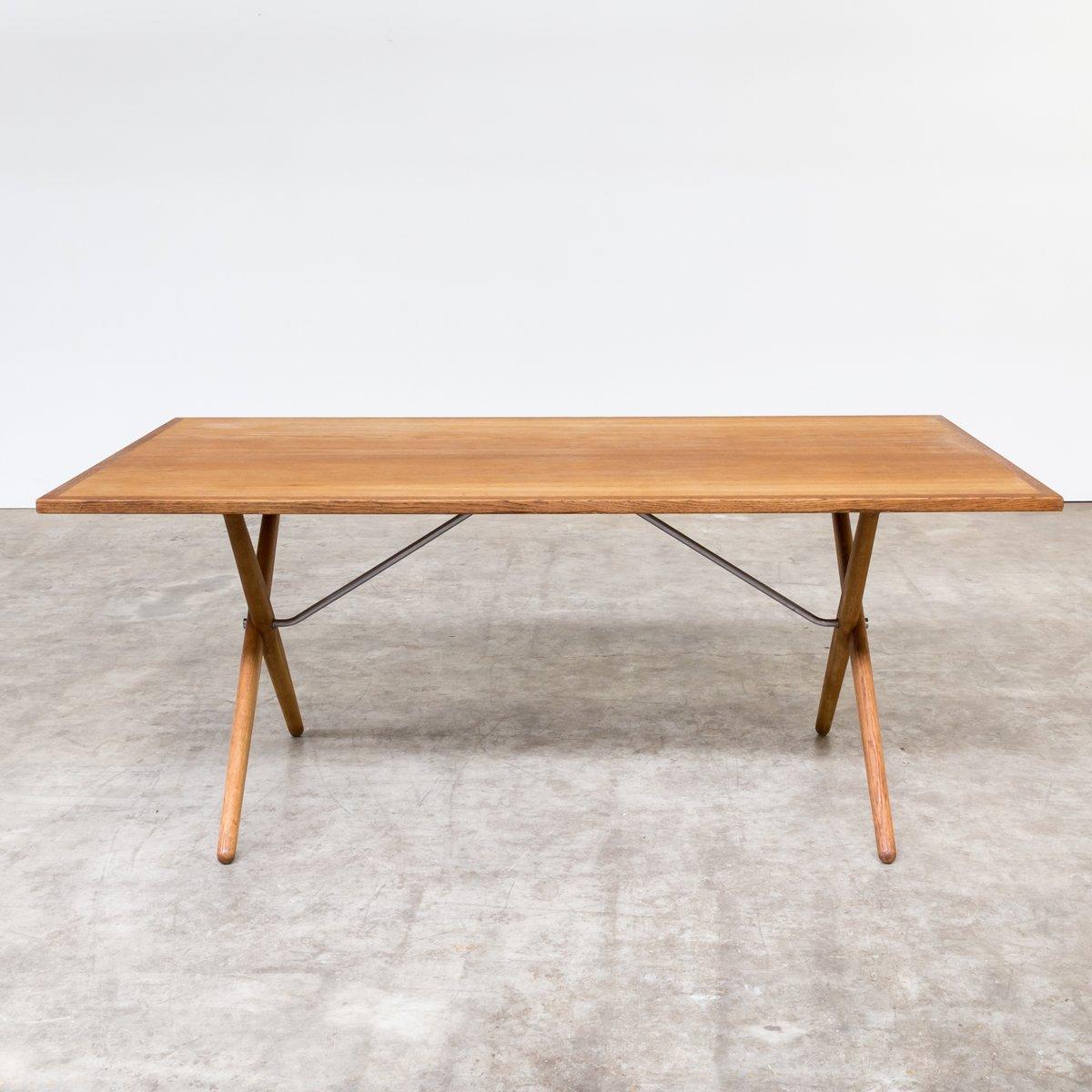 table de salle manger at 303 vintage par hans j wegner pour andreas tuck 1960s en vente sur. Black Bedroom Furniture Sets. Home Design Ideas