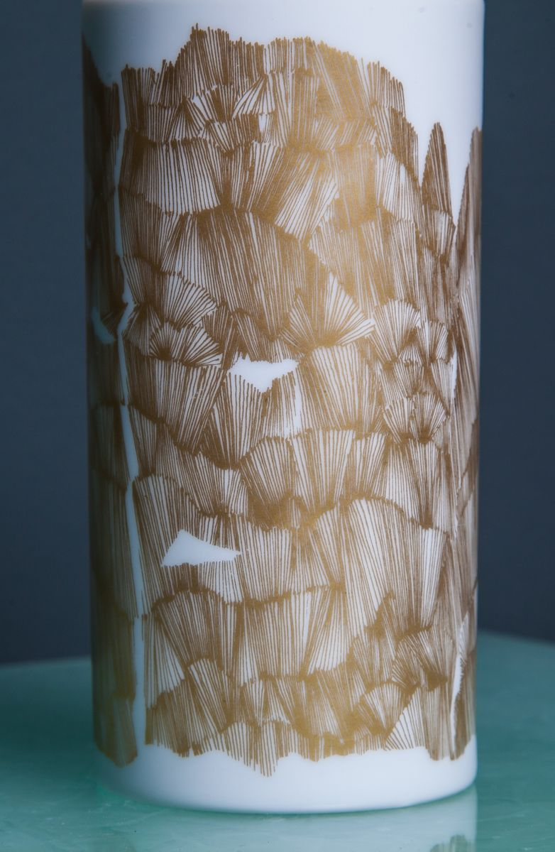 Vintage gold and white vase from rosenthal for sale at pamono vintage gold and white vase from rosenthal reviewsmspy