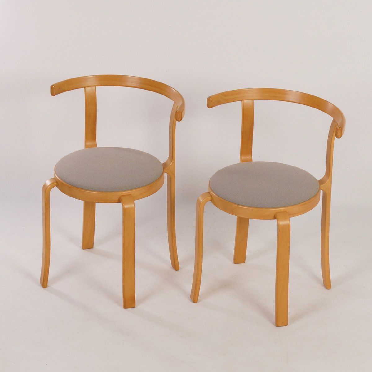Danish dining chairs by thygsen s rensen for magnus for 1980s chair design