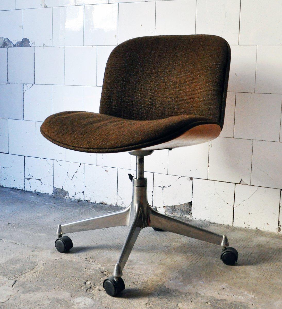 Sedie da ufficio Mid-Century di Ico Parisi per MIM Design, set di 4 ...