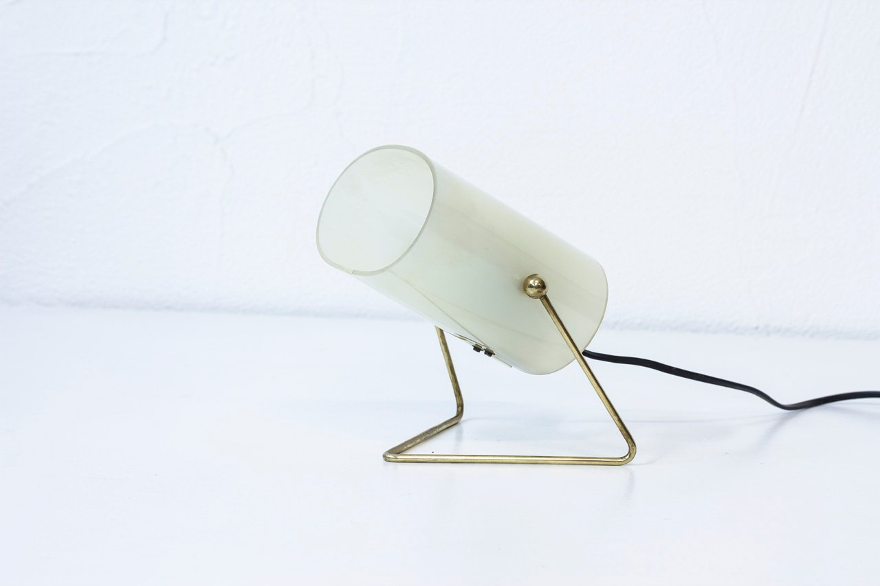 Mid century finnish brass acrylic table lamp from korumo for mid century finnish brass acrylic table lamp from korumo aloadofball Image collections