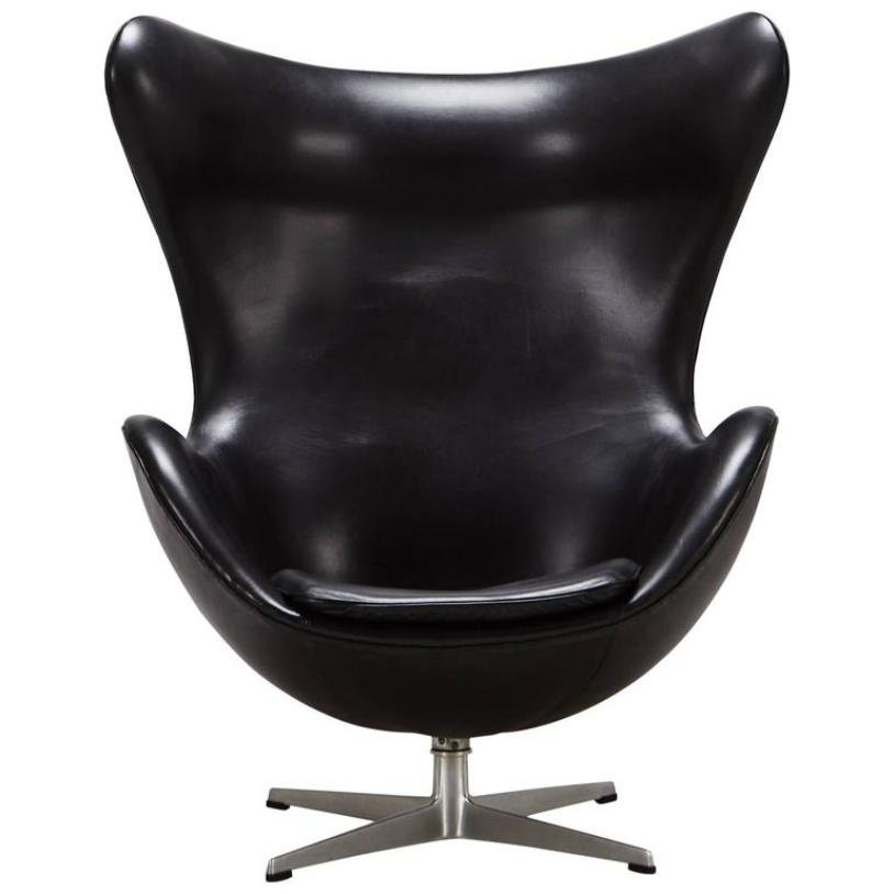 Egg Chair by Arne Jacobsen for Fritz Hansen, 1965 for sale at Pamono
