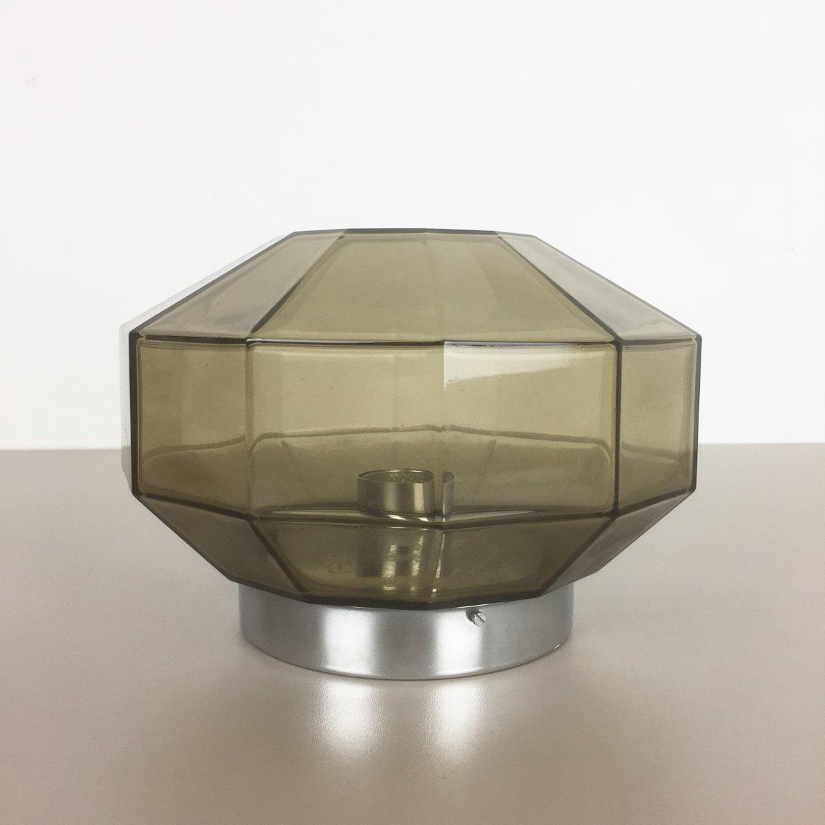 moderne deutsche diamant wandlampe von glash tte limburg 1970er bei pamono kaufen. Black Bedroom Furniture Sets. Home Design Ideas