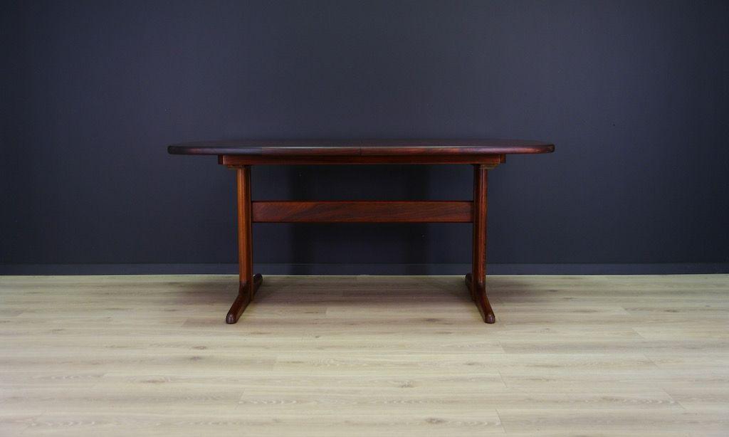 D nischer tisch mit palisander furnier von skovby bei for Palisander tisch