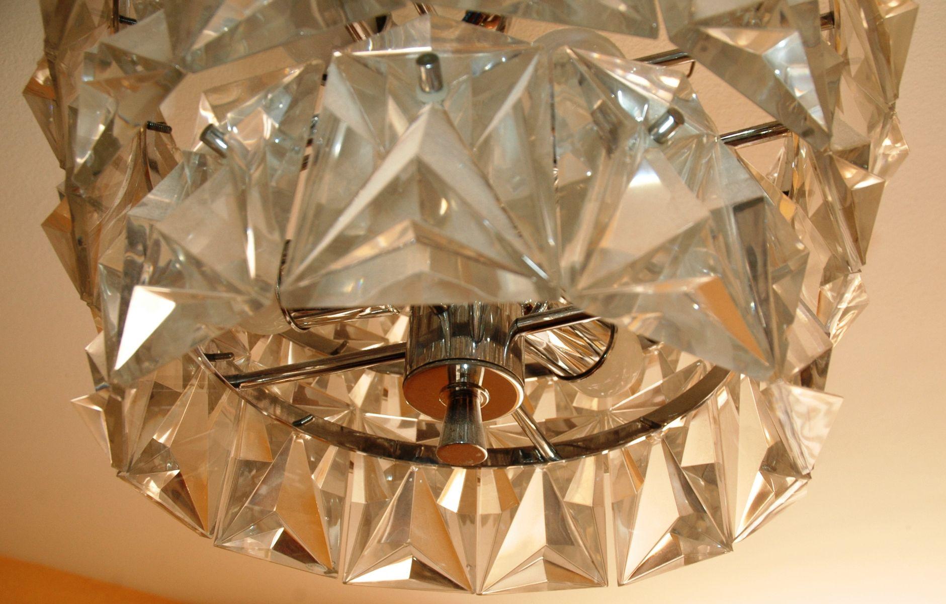 mid century bergkristall deckenlampe bei pamono kaufen. Black Bedroom Furniture Sets. Home Design Ideas