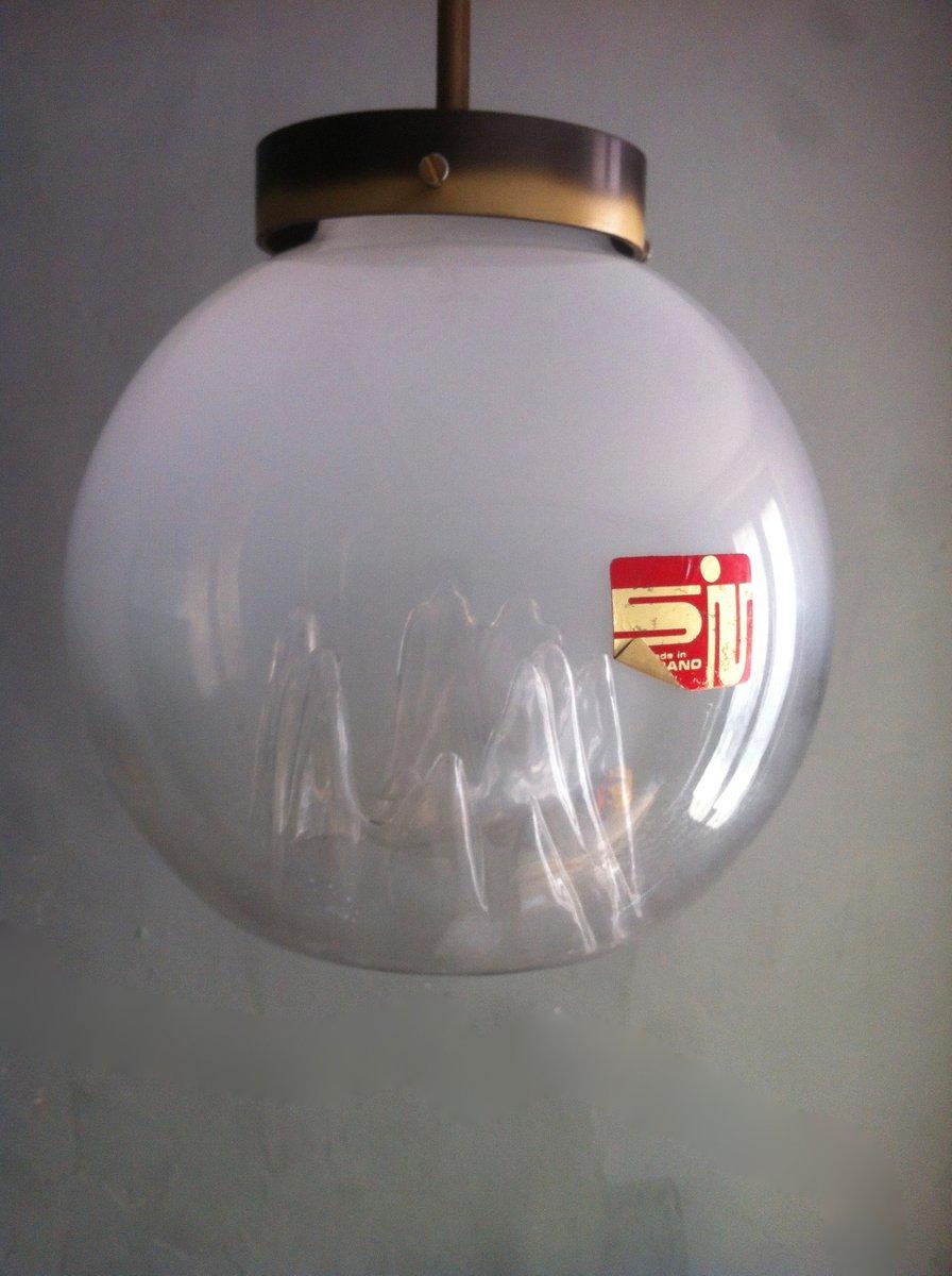 italian pendant lighting. Vintage Italian Murano Glass Globe Pendant Lamp By Toni Zuccheri For Venini Lighting