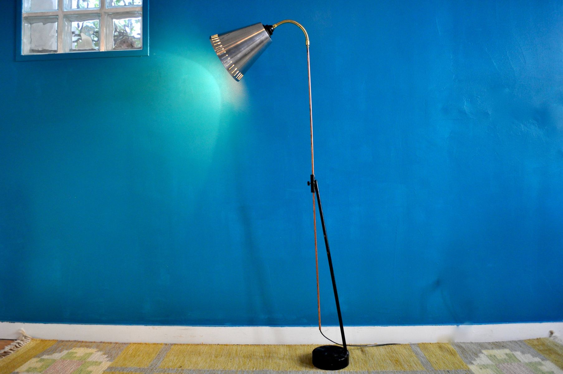 Scandinavian Floor Lamp from AJH for sale at Pamono