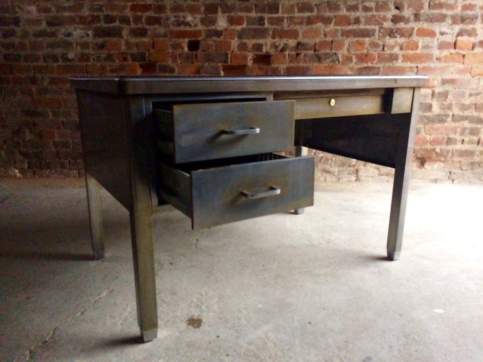 vintage steel furniture. Vintage Steel Industrial Writing Desk From Robberechts 12. $1,972.00. Price Per Piece Furniture
