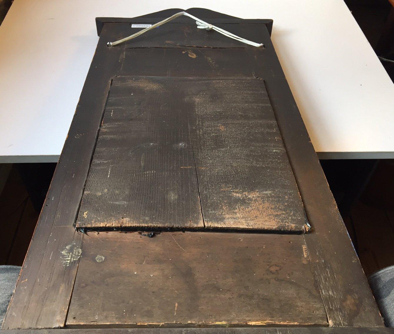 antiker d nischer spiegel mit mahagoni rahmen 1820er bei. Black Bedroom Furniture Sets. Home Design Ideas
