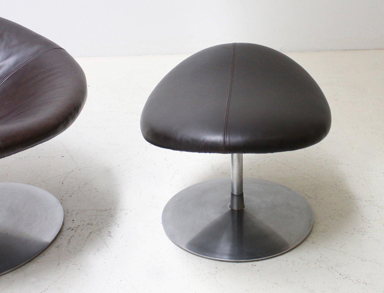 chaise ottomane globe par pierre paulin pour artifort 1970s en vente sur pamono. Black Bedroom Furniture Sets. Home Design Ideas
