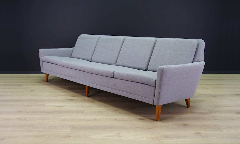 mid century teak sofa von folke ohlsson f r dux bei pamono kaufen. Black Bedroom Furniture Sets. Home Design Ideas