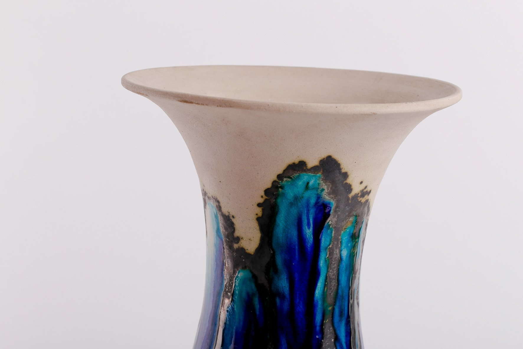 Large vintage ceramic vase by eva bod for sale at pamono large vintage ceramic vase by eva bod reviewsmspy