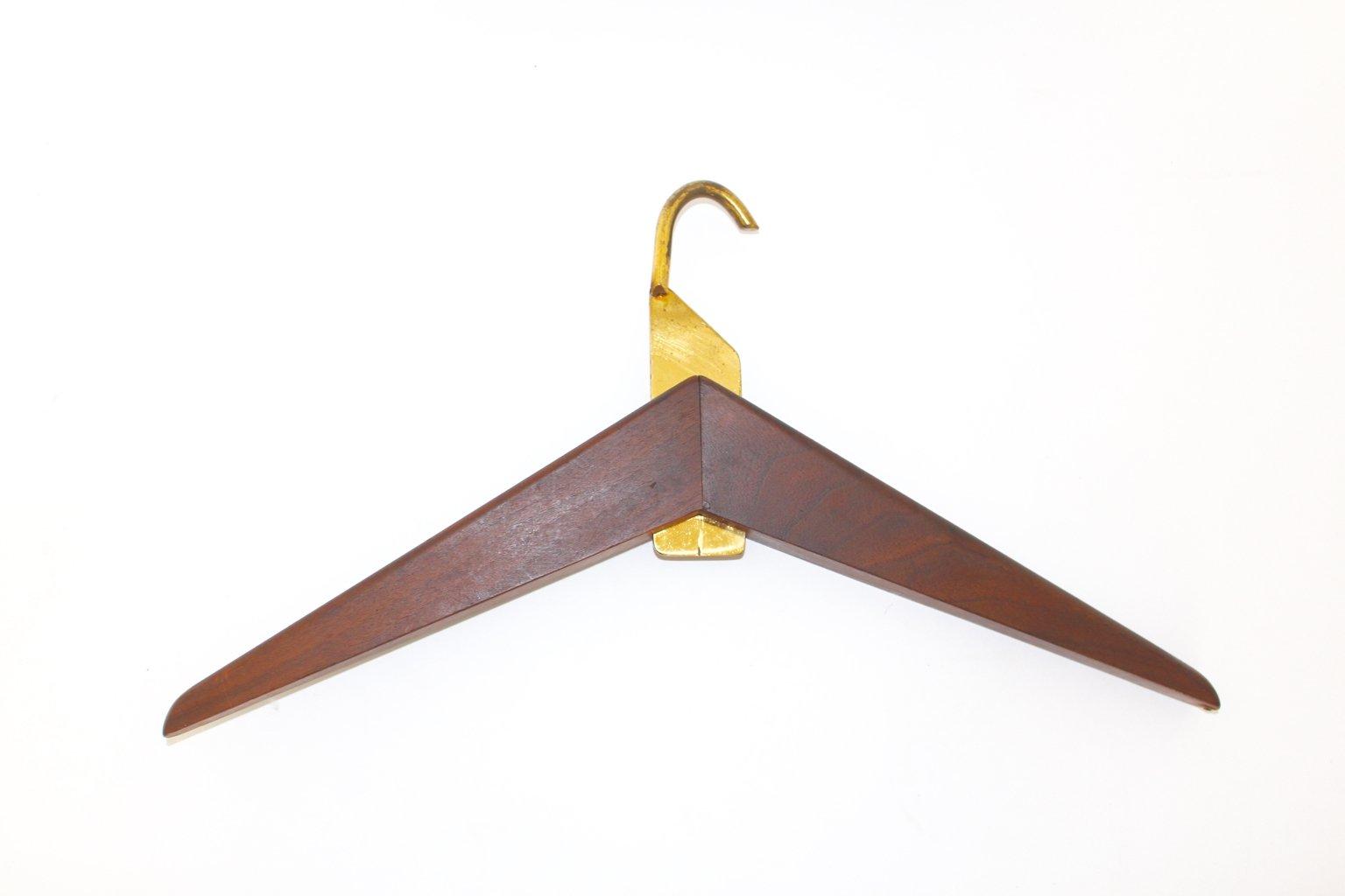 italienischer mid century walnuss kleiderb gel bei pamono kaufen. Black Bedroom Furniture Sets. Home Design Ideas