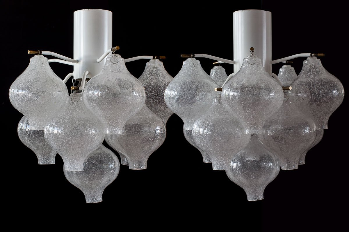 Vintage viennese model tulipan chandelier from jt kalmar set of 2 231300 aloadofball Image collections