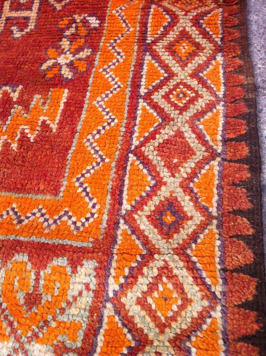 antiker marokkanischer handgewebter teppich 1900er bei pamono kaufen. Black Bedroom Furniture Sets. Home Design Ideas