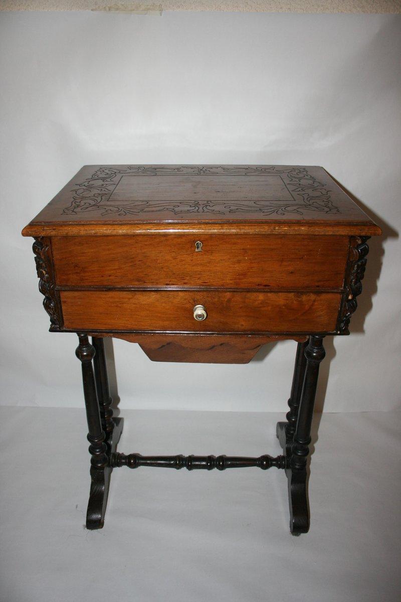 table couture antique allemagne 1790s en vente sur pamono. Black Bedroom Furniture Sets. Home Design Ideas